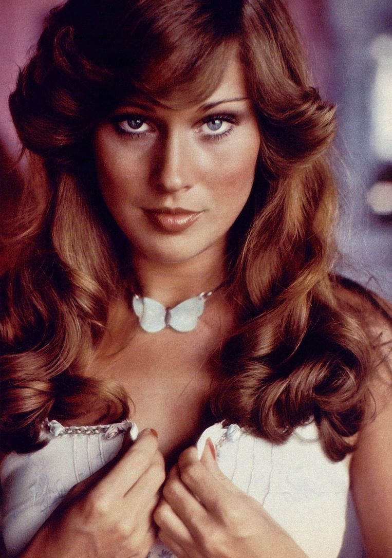 Patti McGuire, Playmate of the Year in 1977. Beeld rv