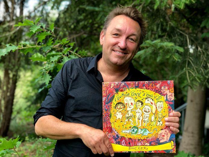 Marthy Coumans met de heruitgave van 'Sticker': 'We wilden geen kopie van al die Engelse bands zijn.'