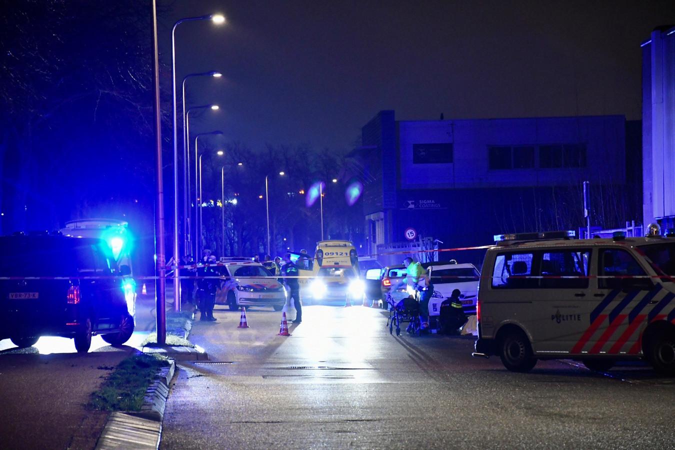 Bij de schietpartij aan de Zeehaenkade in Utrecht werd een traumahelikopter ingevlogen om één van de gewonde broers te verzorgen.