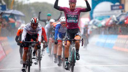 Bekijk hier de slotkilometer van de vijfde Giro-etappe