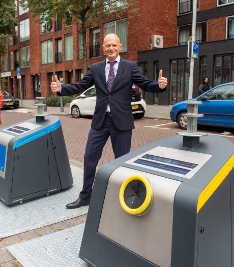 Eindelijk: Rotterdam krijgt afvalcontainer die rood kleurt als-ie vol is (én Zalando-pakjes aankan)
