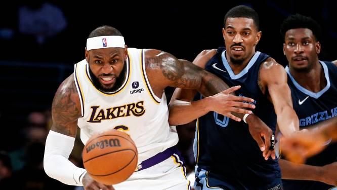 LA Lakers weet tegen Memphis Grizzlies weer wat winnen is