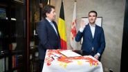 Joris Gaens legt eed af als burgemeester van Voeren