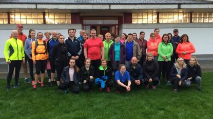 Lauwe verwelkomt 50 Start2runners