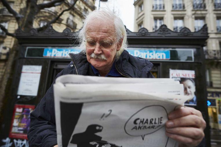 Bernard Holtrop in 2015 in Parijs. Beeld ANP