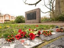 Bloemenkransen vernield bij Joods Monument in Baarn: 'Ik sluit niet uit dat het voortkomt uit antisemitisme'