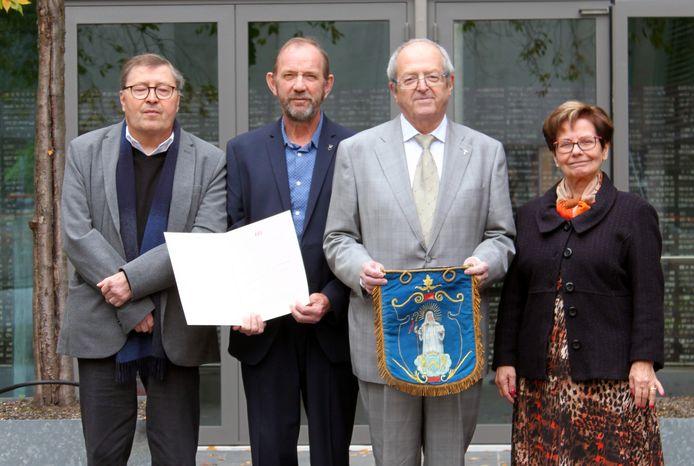 Het bestuur van heemkring Sint-Gertrudis