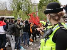 La police ouvre une enquête après la manifestation à Old Trafford, deux agents blessés