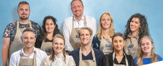 De tien deelnemers van Heel Holland Bakt.