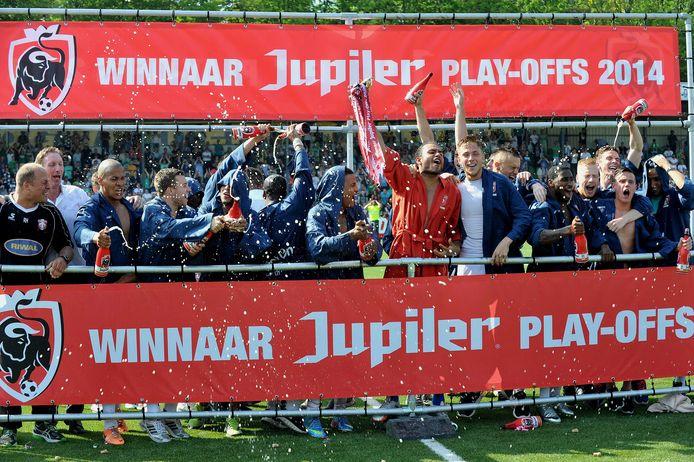 Nog maar drie jaar geleden: FC Dordrecht promoveert via de nacompetitie naar de eredivisie.