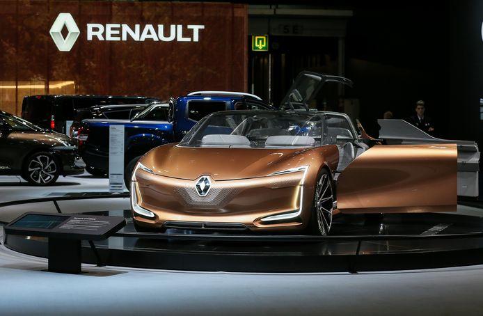 De conceptauto Renault Symbioz  op het Autosalon in Brussel.