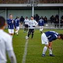 Anouar Hadouir staat klaar voor de aftrap. De oud-prof speelt met twee broers, en een broer als coach, bij CHC in Den Bosch.