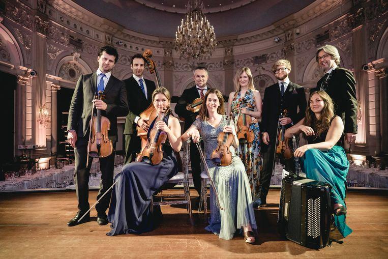 Concertgebouworkest live.  Beeld Hans van der Woerd