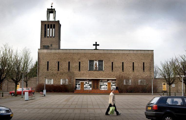 Voormalige Pius X-kerk Beeld Klaas Fopma