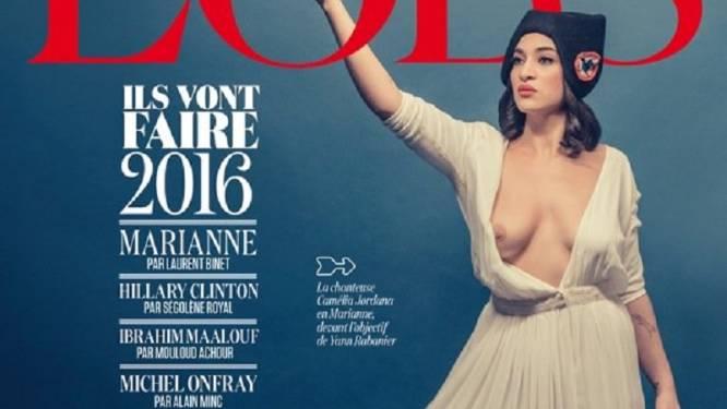 Camélia Jordana se dénude pour incarner Marianne