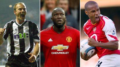 Lukaku staat in top 20 van topschutters aller tijden in Premier League: wie scoorde nog vaker in Engelse eerste klasse?