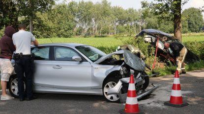 Vijf gewonden bij zwaar ongeval