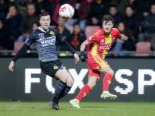 Invaller Rabillard bezorgt Go Ahead Eagles punt tegen Roda