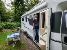 Camperen in Noordoost-Twente: 'Ons huis staat drie kilometer verderop'