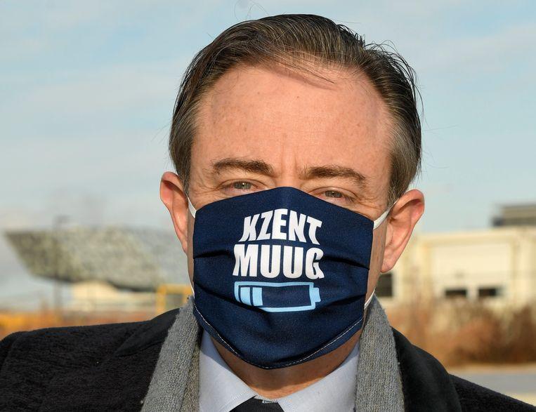 Antwerps burgemeester en N-VA-voorzitter Bart De Wever. Beeld Photo News