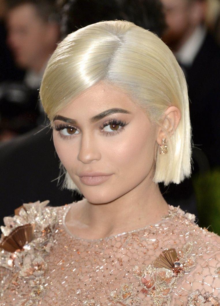 Celebrity en model Kylie Jenner. Beeld Photo News
