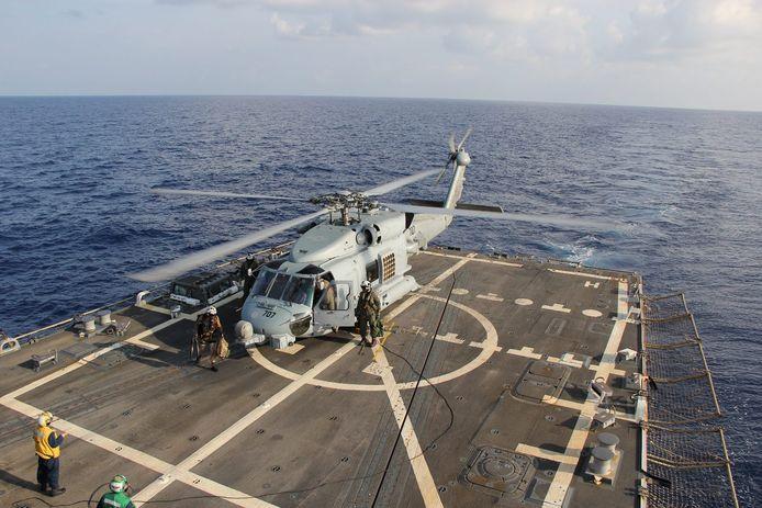 Een soortgelijke  MH-60R Sea Hawk.