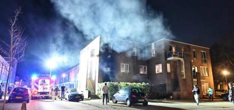 Brand in tuin bij woning in Breda snel geblust
