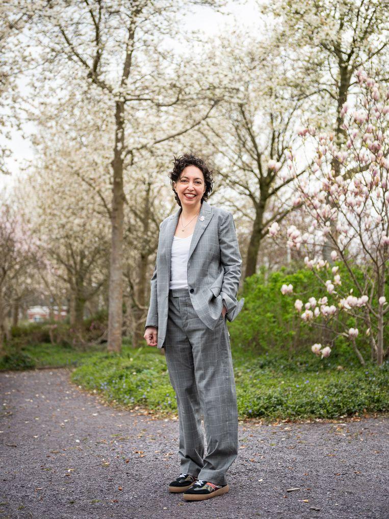 Joumana El Zein Khoury, de nieuwe directeur van World Press Photo.  Beeld Simon Lenskens