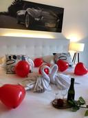 Valentijnsarrangement bij Hotel Mitland.