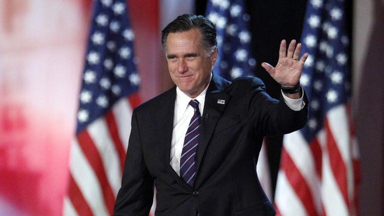 Mitt Romney in november vorig jaar Beeld ap