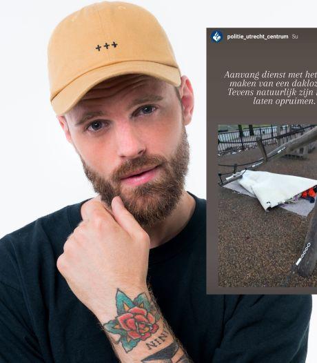 Tim Hofman boos op Utrechtse politie: 'Daklozen zijn een scheldwoord, een grap of een toffe post voor de politie'