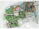 De plannen van de uitbreiding van de Efteling zoals die in 2018 geschetst werden. Het golfpark komt per 1 januari volgend jaar in beheer van De Hollandse Golfbaan Exploitatiemaatschappij.
