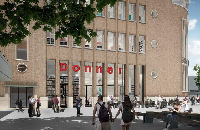 Donner krijgt een prominente plek in het bankgebouw van ABN Amro.