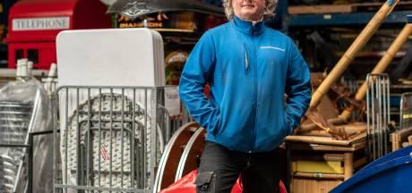Jan van den Broek verzamelde duizenden feestartikelen voor verhuurbedrijf Feestcentrale: 'Kei- en keihard voor gewerkt'