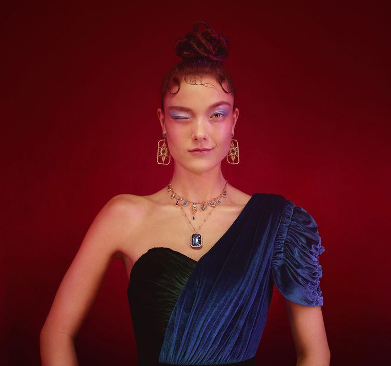 Het Belgische supermodel Yumi Lambert is het gezicht van de campagne.