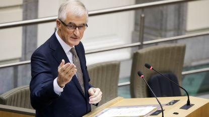 """Bourgeois: """"Procedure gouverneur Oost-Vlaanderen stoppen kan niet"""""""
