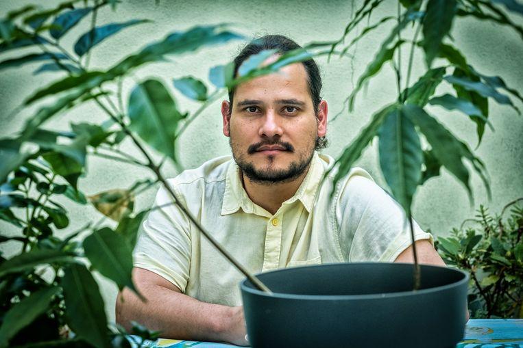 Jhon Muñoz. Beeld Tim Dirven