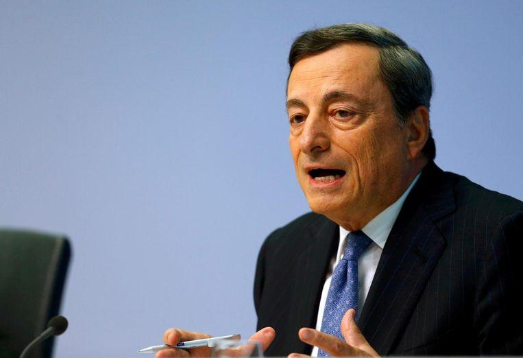 ECB-voorzitter Mario Draghi Beeld reuters