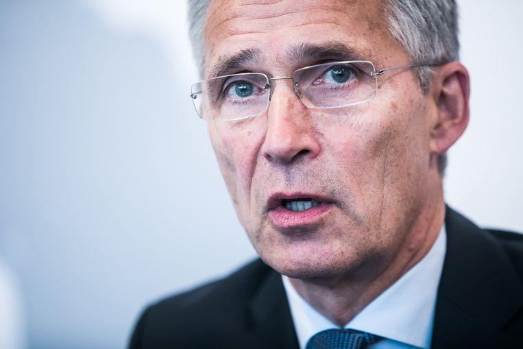 NAVO-secretaris-generaal Jens Stoltenberg. Beeld BAS BOGAERTS