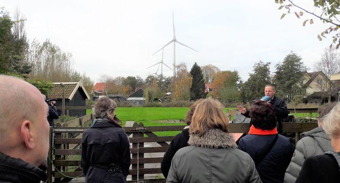 Beeld van een eerdere 'windexcursie' van Eerlijk over Heesch-West.