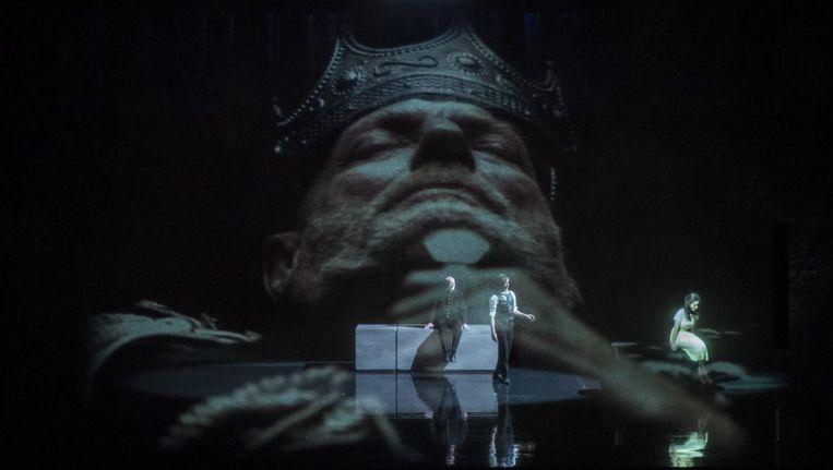 Hamlet van Opera2day, onder regie van Serge van Veggel Beeld  Ben van Duin