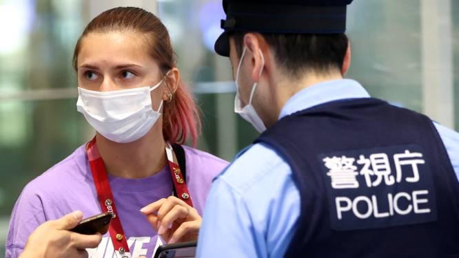 Wit-Russische atlete die weigert naar haar land terug te keren, in Poolse ambassade in Tokio