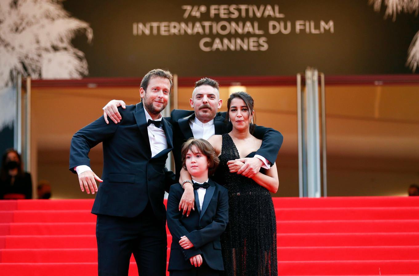 Joachim Lafosse, Leila Bekhti, Damien Bonnard et Gabriel Merz Chammah