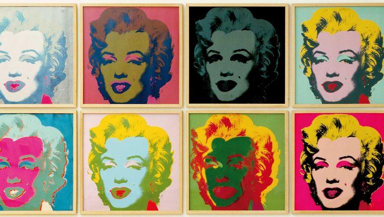 Andy Warhol, Marilyn Monroe, 1968. Beeld Dirk Pauwels