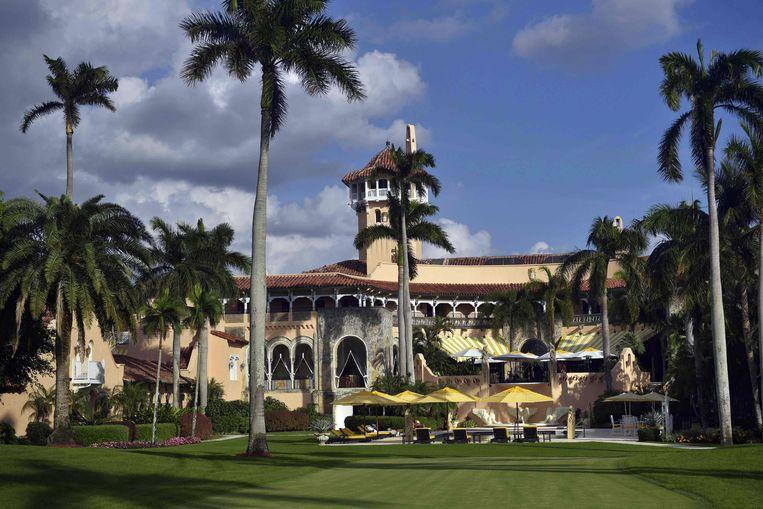 Trumps bekende golfresort Mar-a-Lago in Florida.