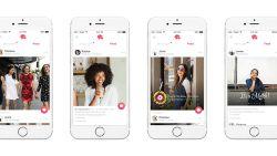 Tinder toont je foto's en muzieknummers van je matches in feed