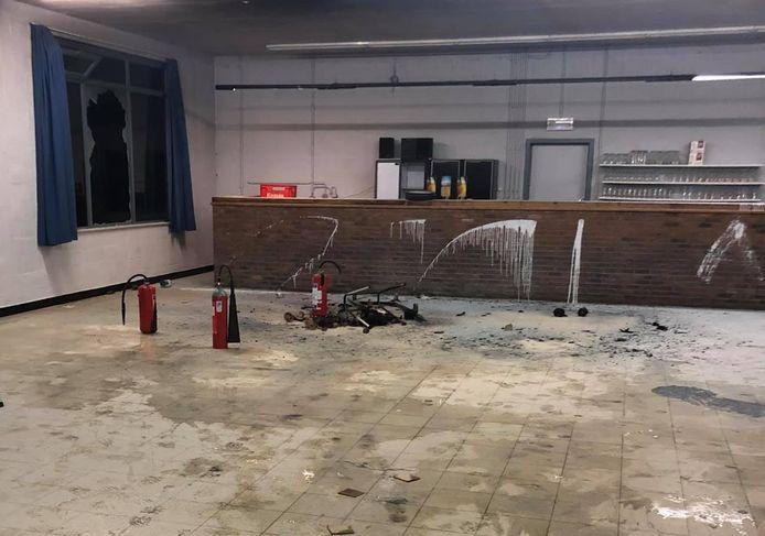 Door het snelle optreden van brandweerpost Gavere werd erger voorkomen.