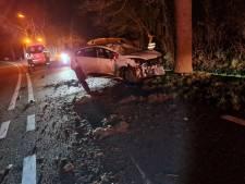 Vrouw (45) die met auto tegen boom in Paasloo knalt was onder invloed: 'Rook naar alcohol'