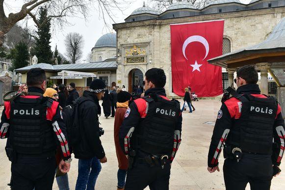 Politieagenten in Turkije (archiefbeeld).