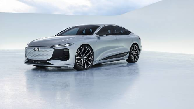 Elektrische Audi A6 e-Tron komt ruim 700 kilometer ver
